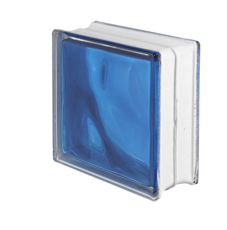 Brique de verre couleur bleu brique de verre chez - Brique de verre couleur ...